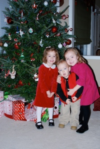 THE THREE MUNCHKINS--Molly, Mack and Ruby 2008
