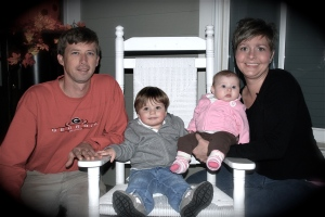 Marcy, my older sister, and her family