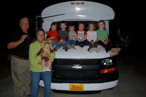 PawPaw, Sweetie, Rennison, Vance, Jud, Kaybeth, Mack, Molly and Ruby