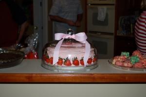 Beautiful, yummy cake made by Lindsey Harrison....